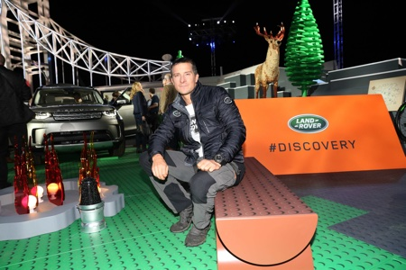 BIRMINGHAM, ENGLAND - SEPTEMBER 28: Bear Grylls during the world premiere of the all-new Land Rover Discovery at Packington Hall park on September 28, 2016 in Birmingham, England. (Photo by Land Rover)
